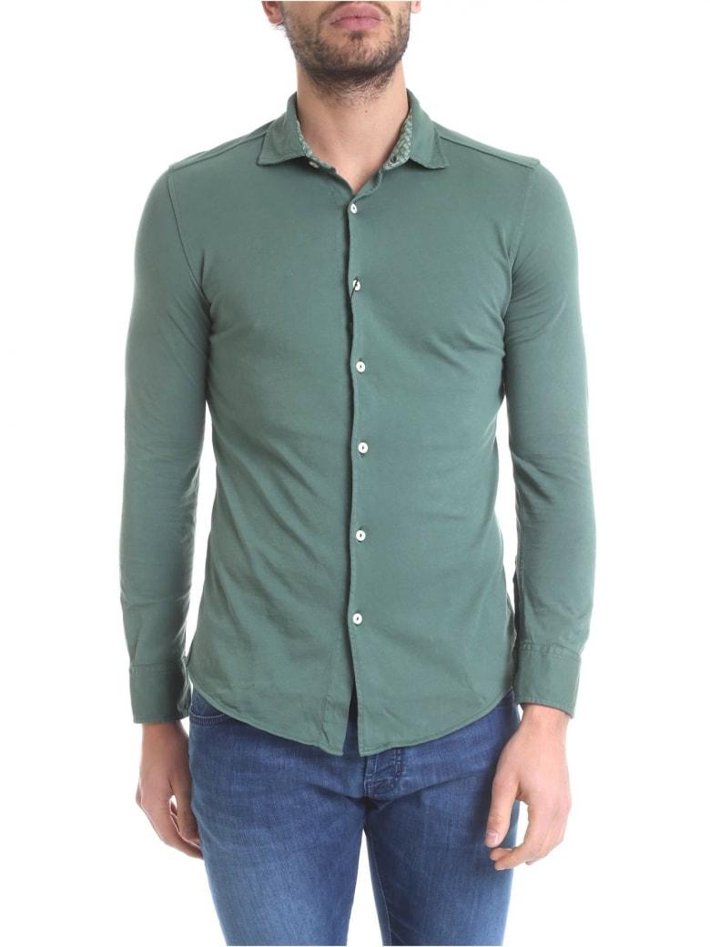 Drumohr Polo Shirt Cotton - Green