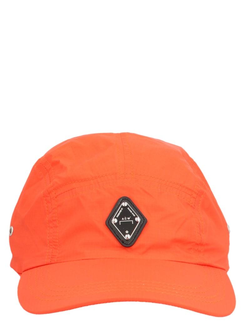 A-COLD-WALL 'rhombus Logo' Cap - Red