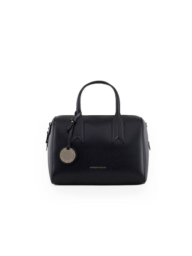Emporio Armani Black Red Handbag - Nero / Rosso (Black)