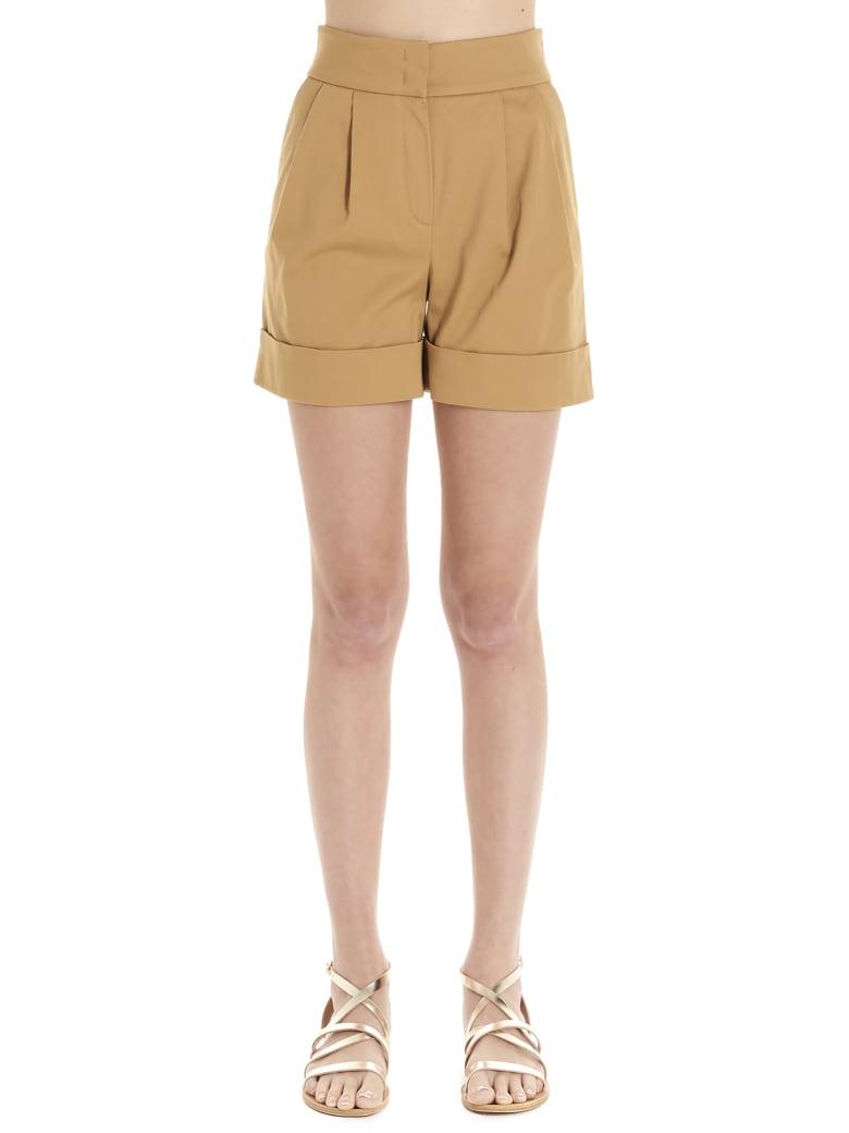 Alberta Ferretti Shorts - Marrone