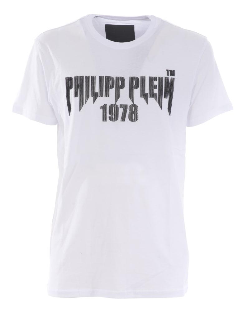 Philipp Plein Short Sleeve T-Shirt - Bianco