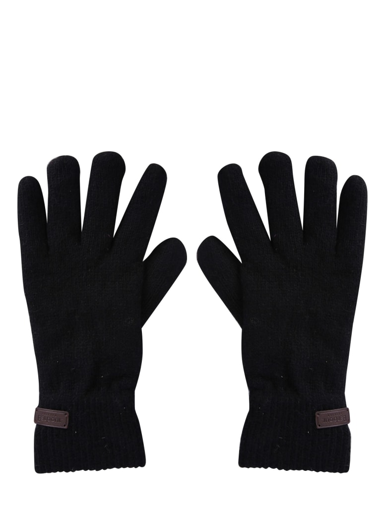 Barbour Gloves With Logo - NERO