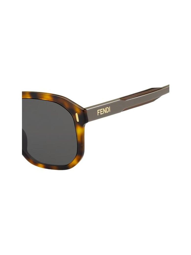 Fendi FF M0097/F/S Sunglasses - /ir Havana Brown