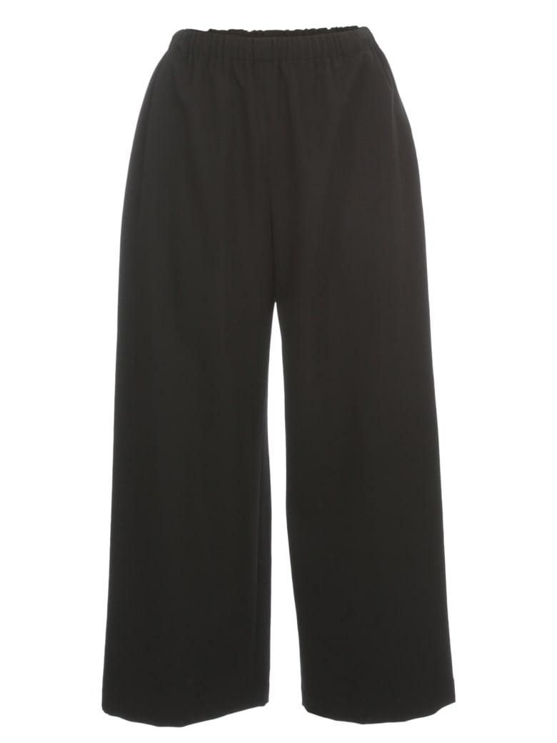 Comme des Garçons Comme des Garçons Wool Gabardine Pants - Black