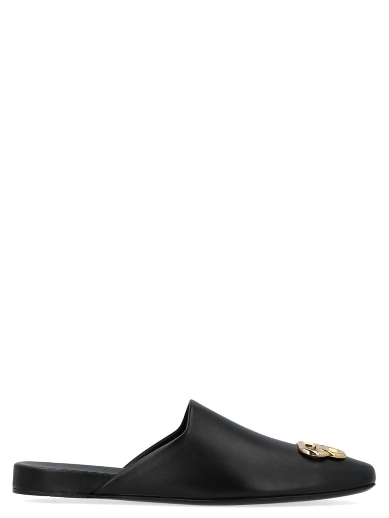 Balenciaga 'knife Bb' Shoes - Black Gold