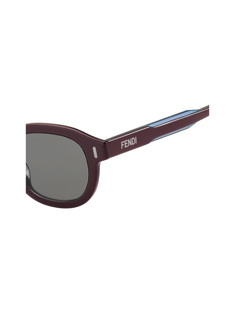 Fendi FF M0100/G/S Sunglasses - Xae/ir Burgundy Blu