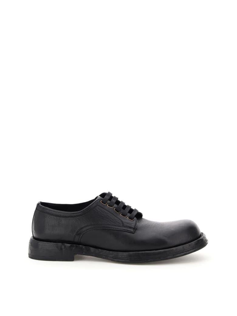 Dolce & Gabbana Derby Lace-up Shoes - Nero