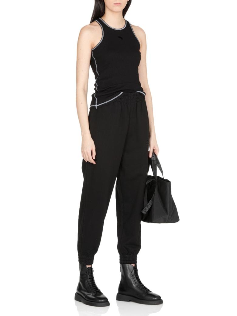 McQ Alexander McQueen Blend Cotton Tank Top - Darkest Black