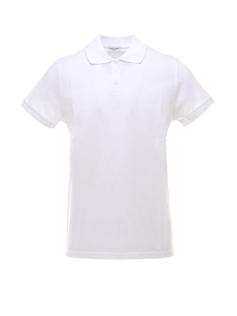 Saint Laurent Polo Shirt - White