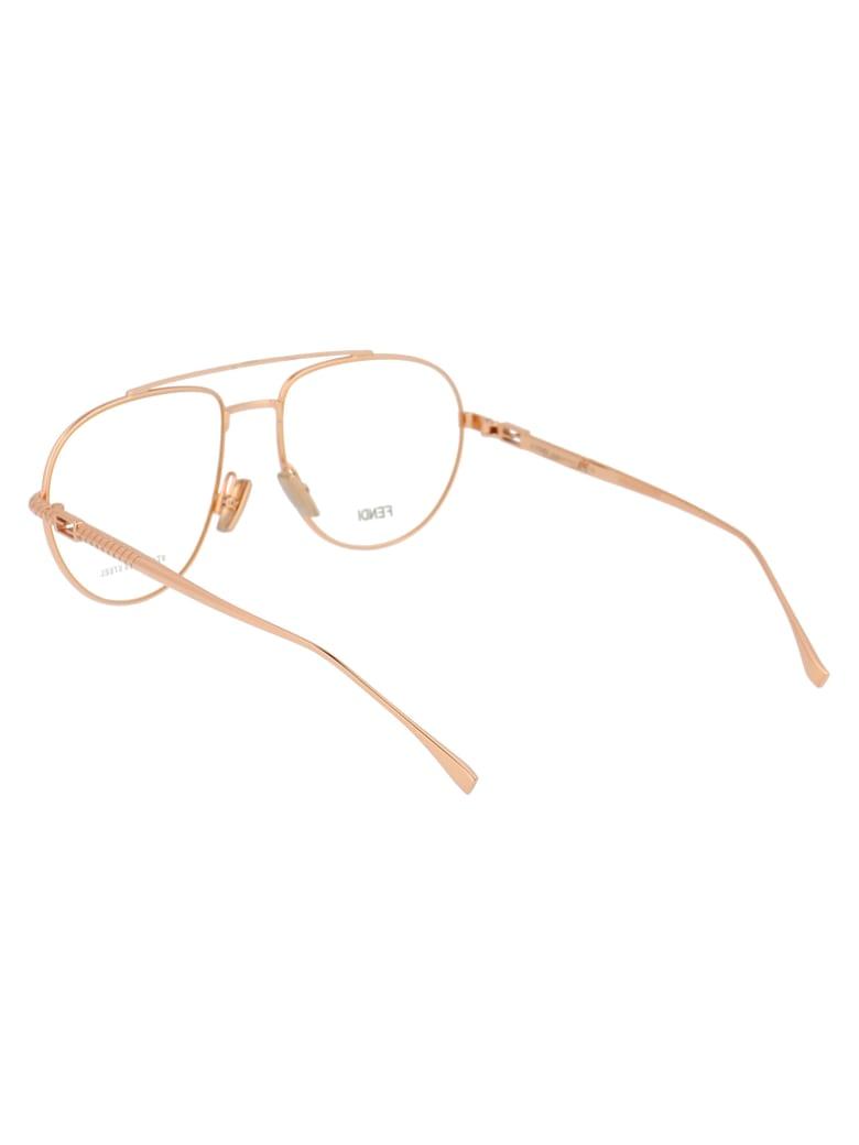 Fendi Ff 0446 Glasses - DDB GOLD COPPER
