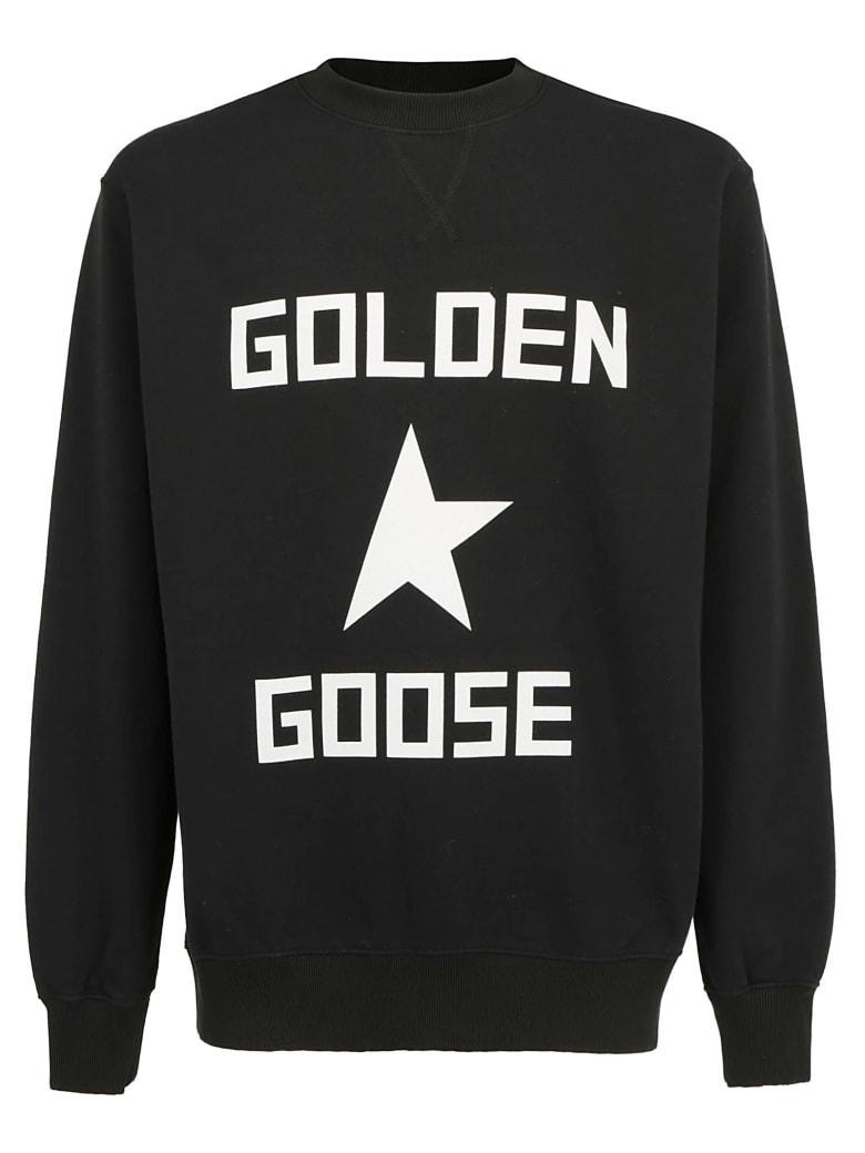 Golden Goose Sweatshirt - Black/golden goose star