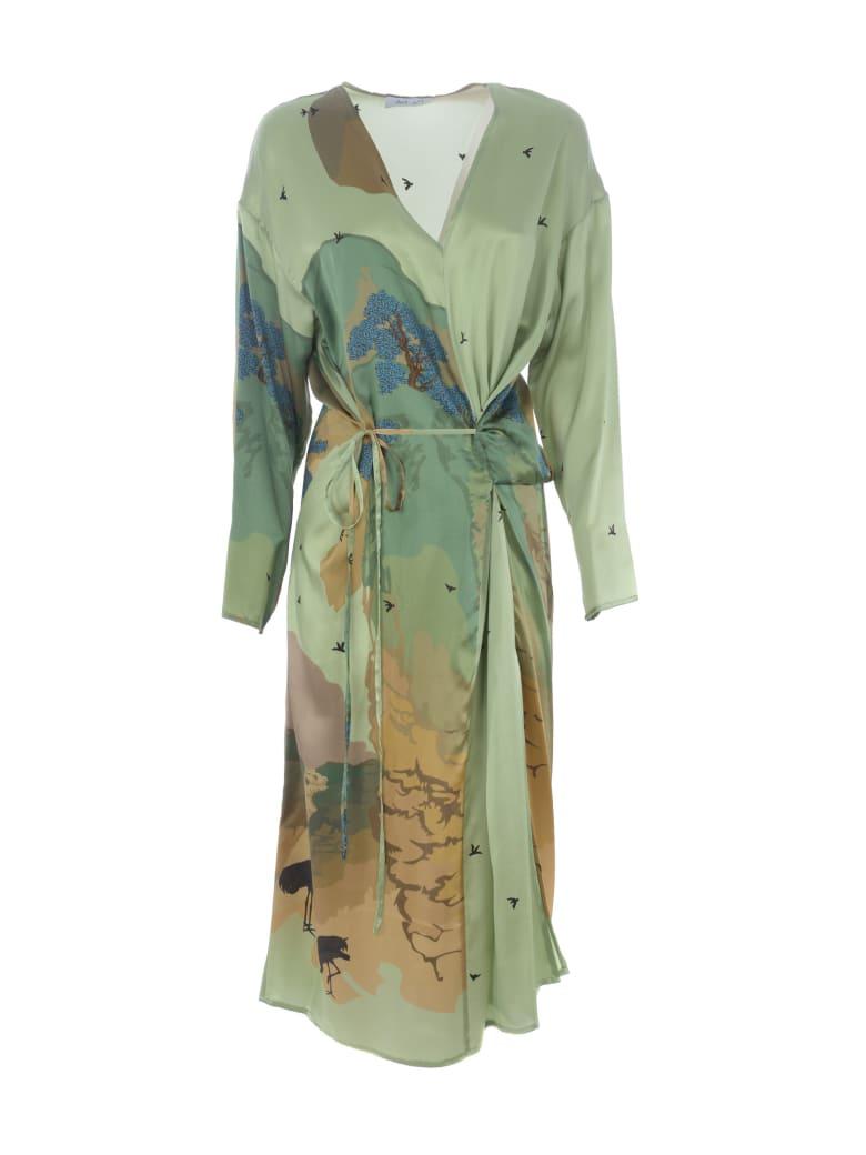 Act n.1 Dress - Verde/Multicolor