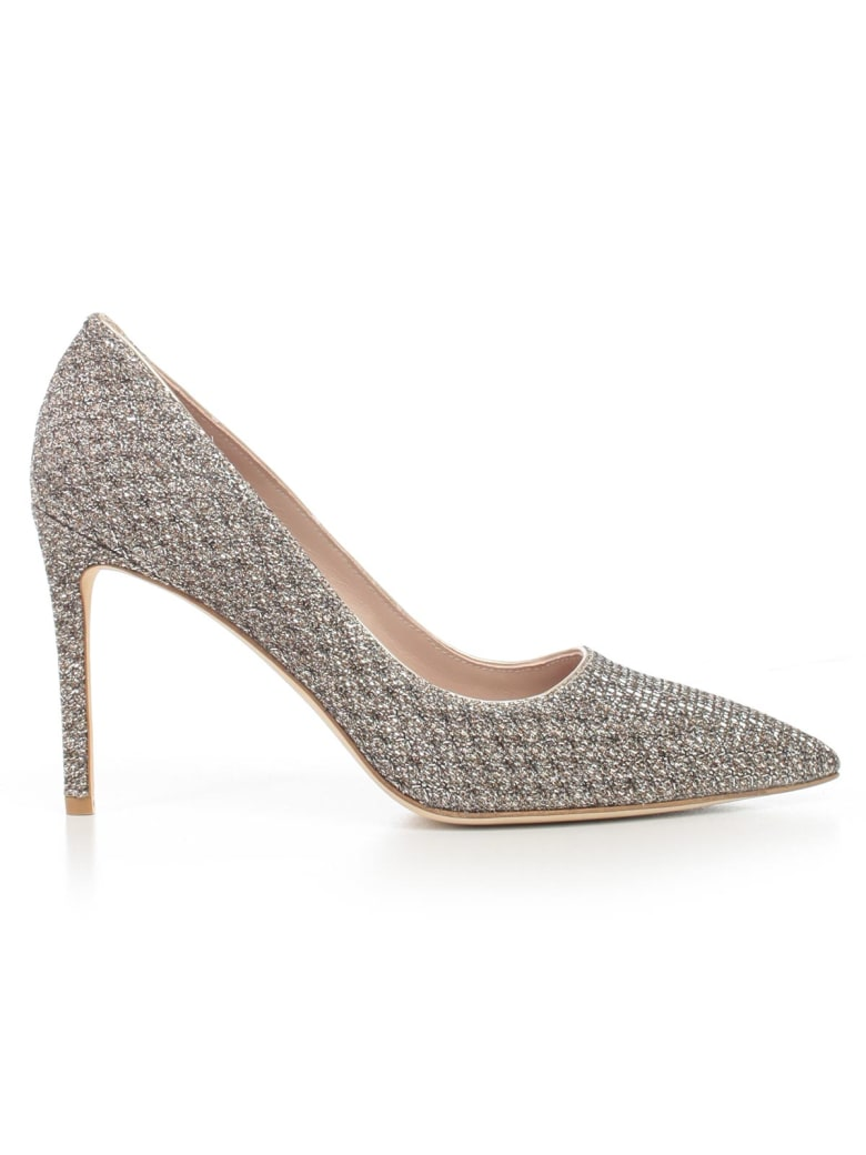 Stuart Weitzman Pumps 95 Heel Night Stars - Platino