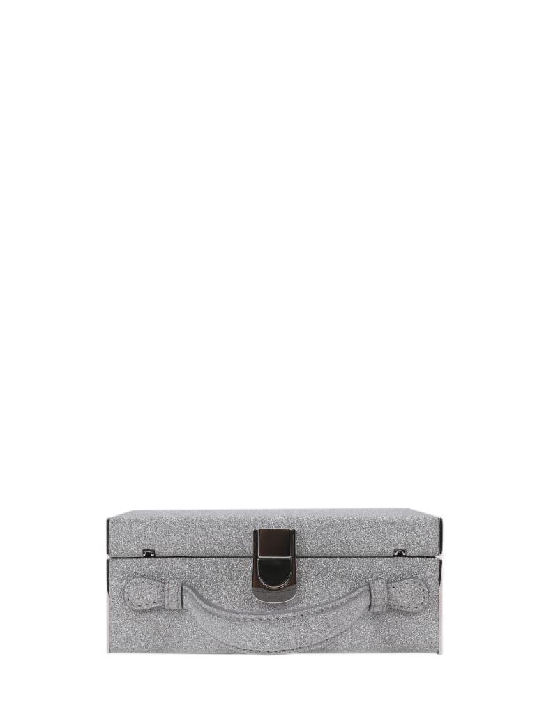 Mark Cross Silver Rear Window Bag - Silver