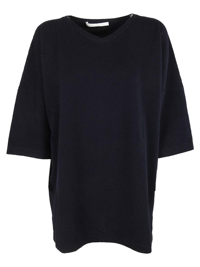 Saverio Palatella Knitted Blouse - Navy