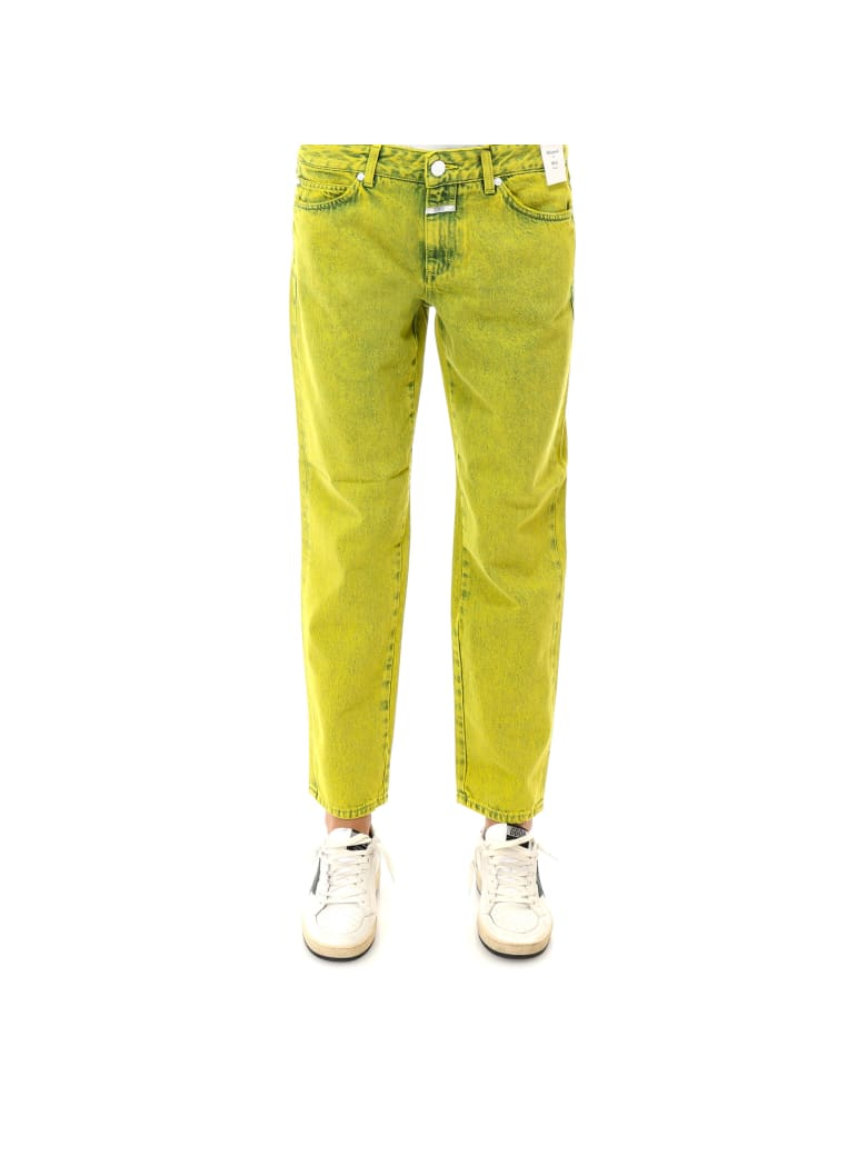 Closed Trousers - Yellow