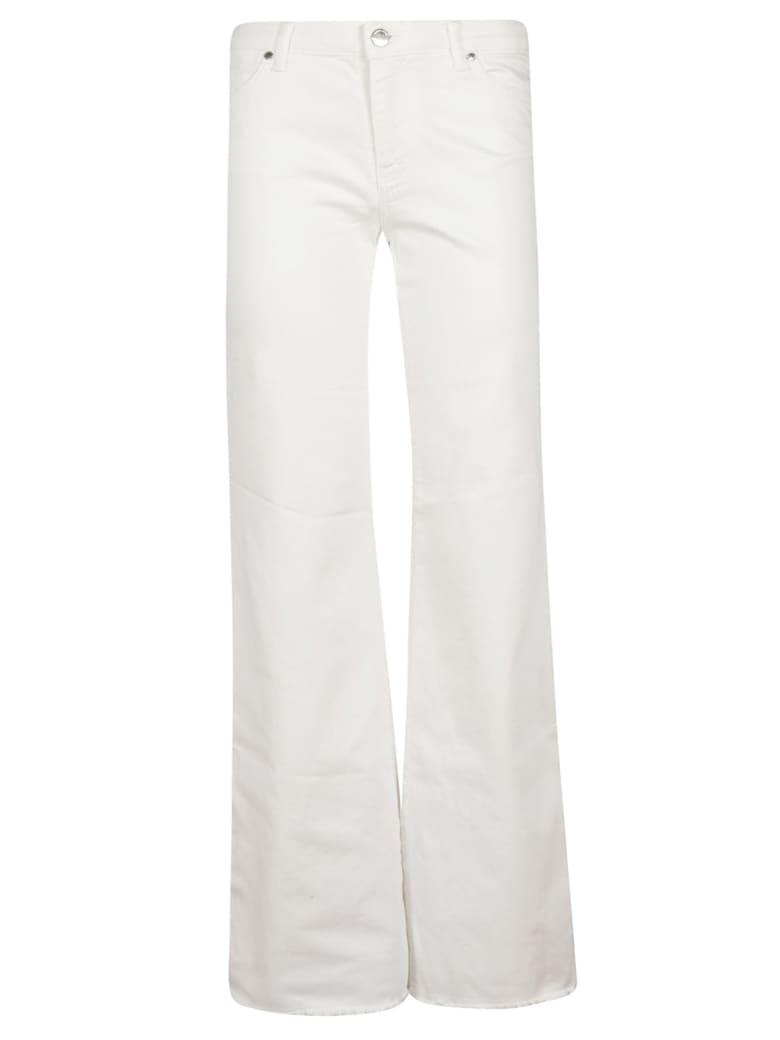 Ermanno Scervino Wide Leg Jeans - white