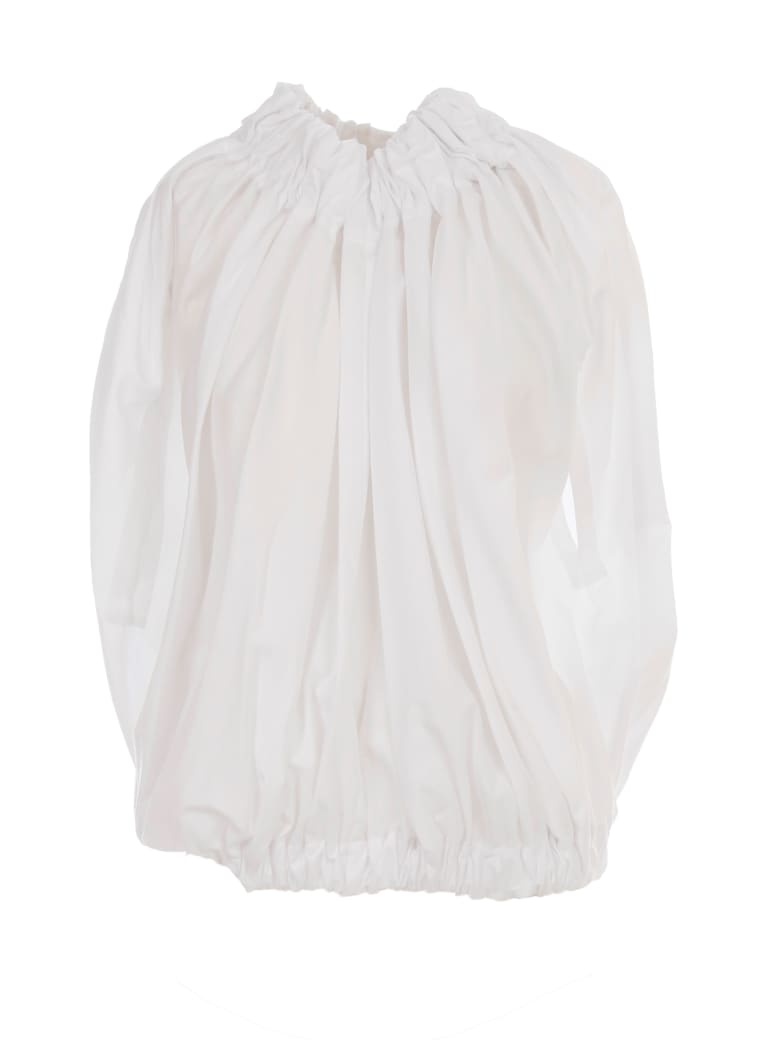 Comme des Garçons Comme des Garçons Cotton Broad Tshirt - White