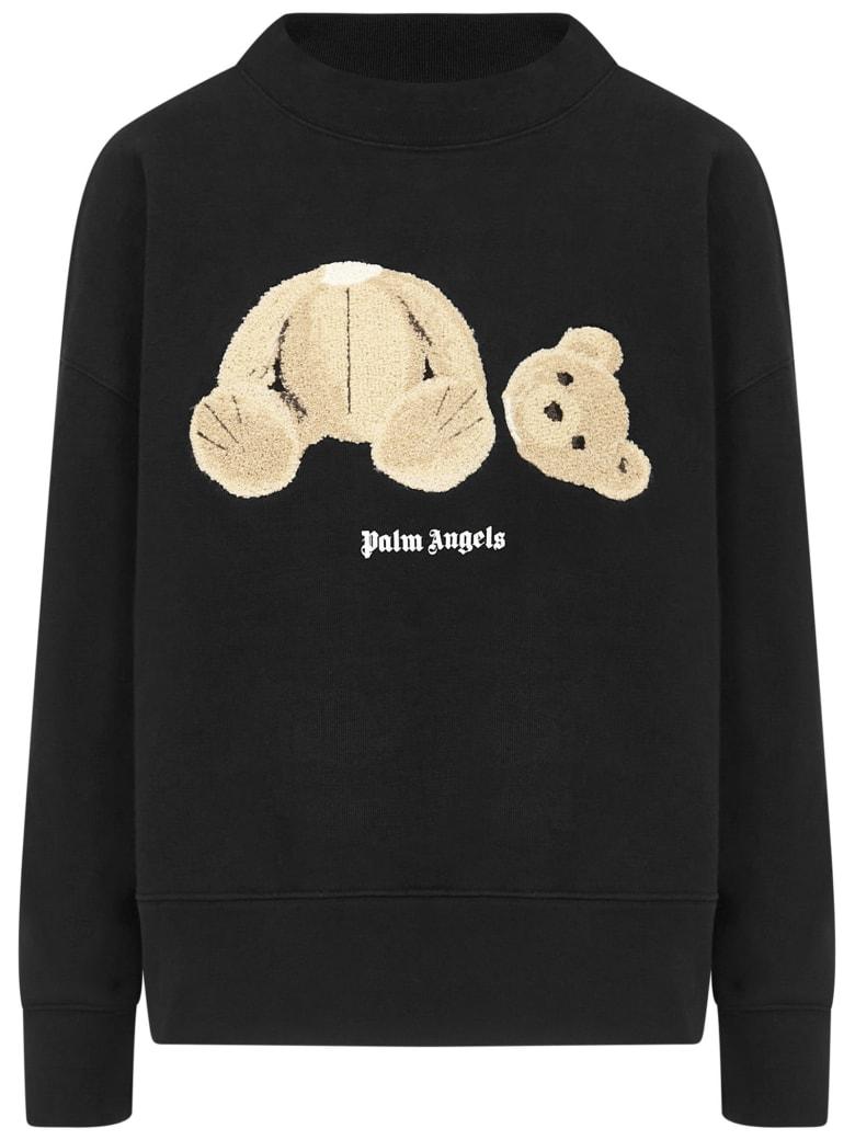 Palm Angels Bear Sweatshirt - Black
