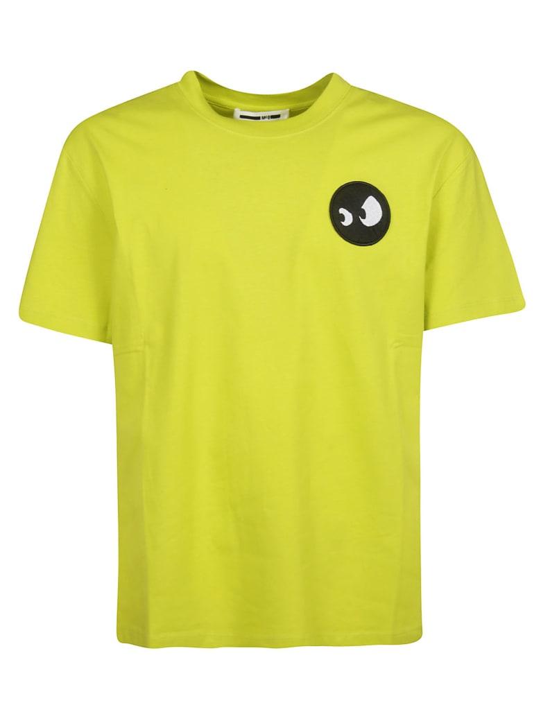 McQ Alexander McQueen Patch Detail T-shirt - yellow