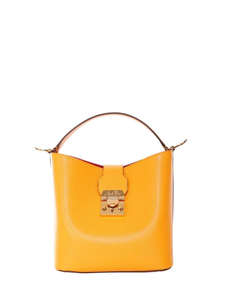 Mark Cross Marigold Murphy Small Bucket Bag - Orange