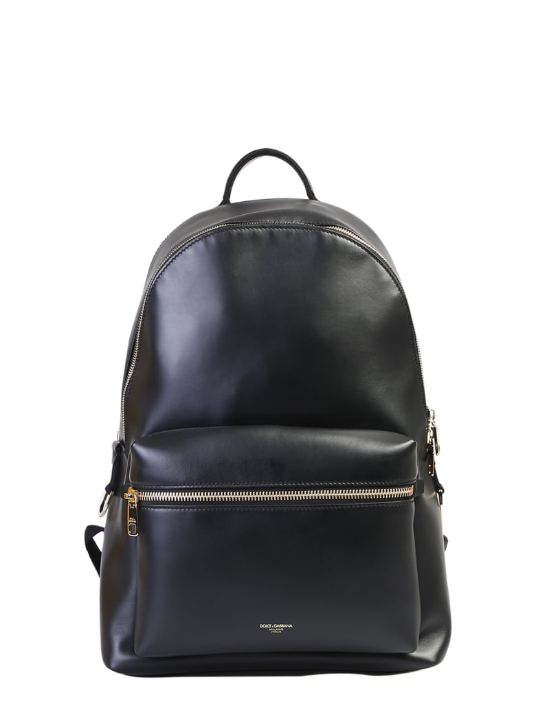 Dolce & Gabbana Branded Backpack - Black