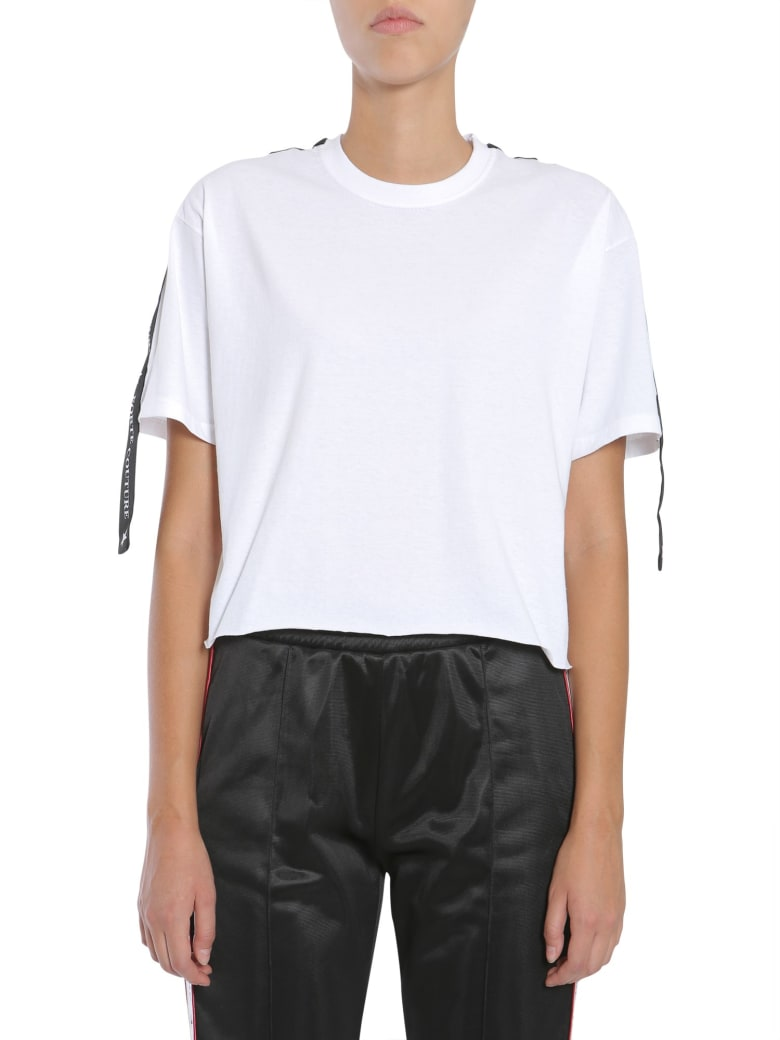 Forte Couture Cropped T-shirt - BIANCO