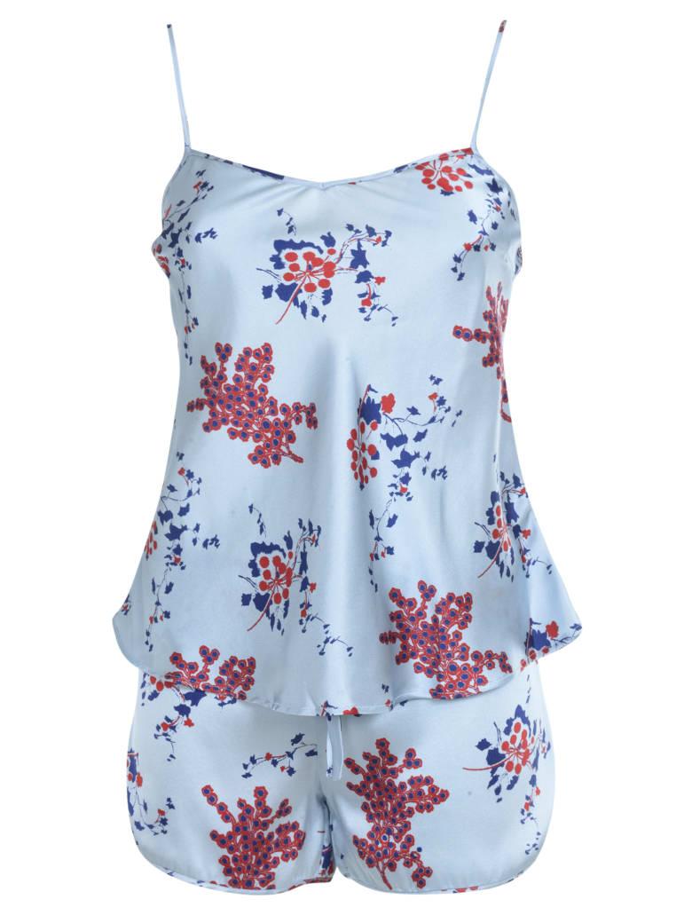 Olga Frua Dora Camisole + Shirts - Cielo