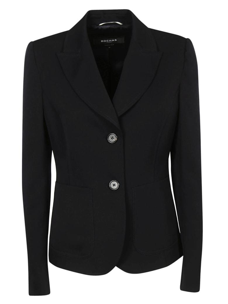 Rochas Single Breasted Blazer - Black