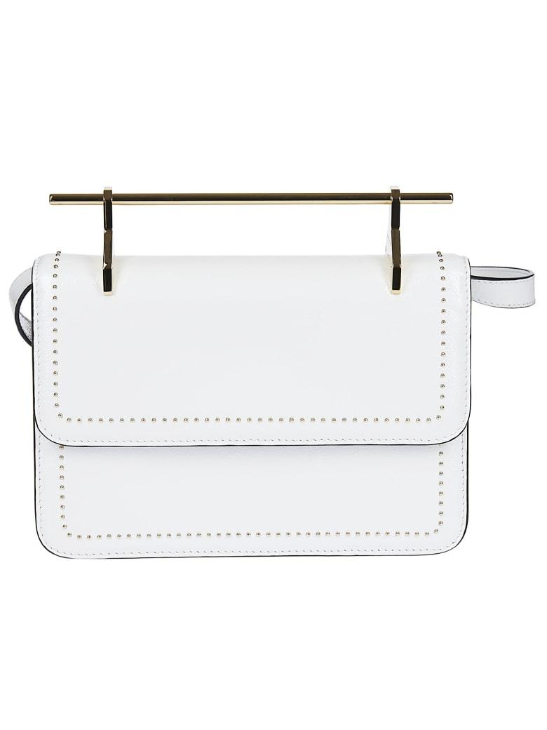 M2Malletier La Fleur Du Mal Shoulder Bag - White