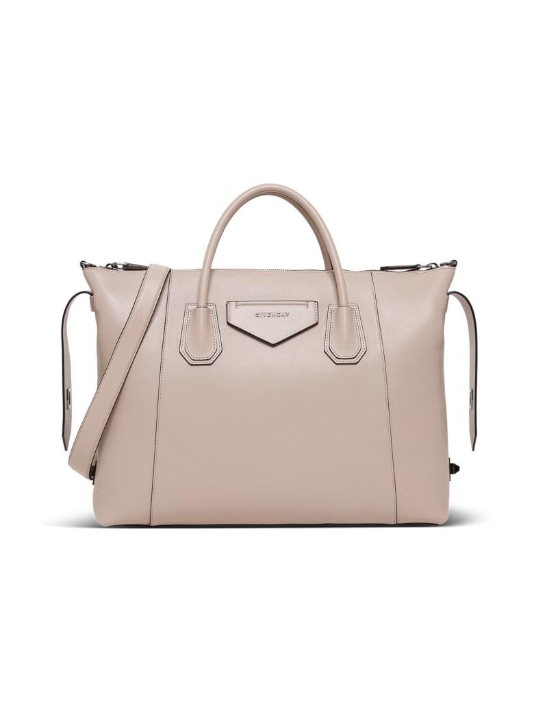 Givenchy Medium Antigona Soft Tote Bag - Beige