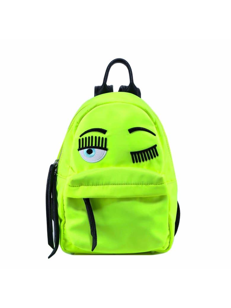 Chiara Ferragni Backpack Flirting Fluo Big - Green