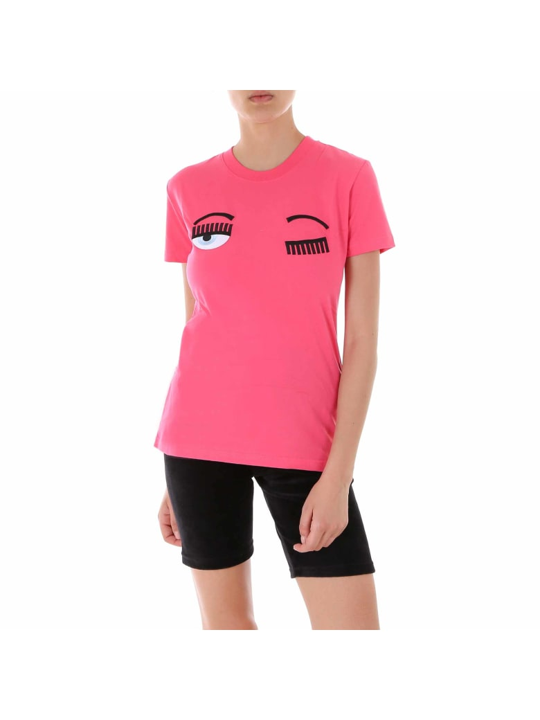 Chiara Ferragni T-shirt Flirting - Pink