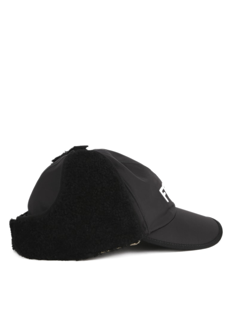 Fendi Nylon Baseball Cap - Black