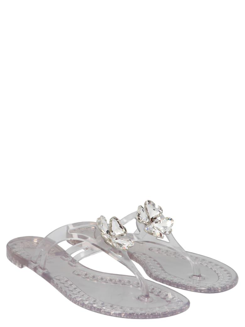 Casadei 'quadrifoglio' Shoes - White