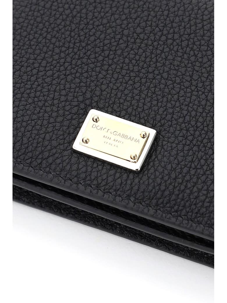 Dolce & Gabbana Business Wallet Portfolio - Nero