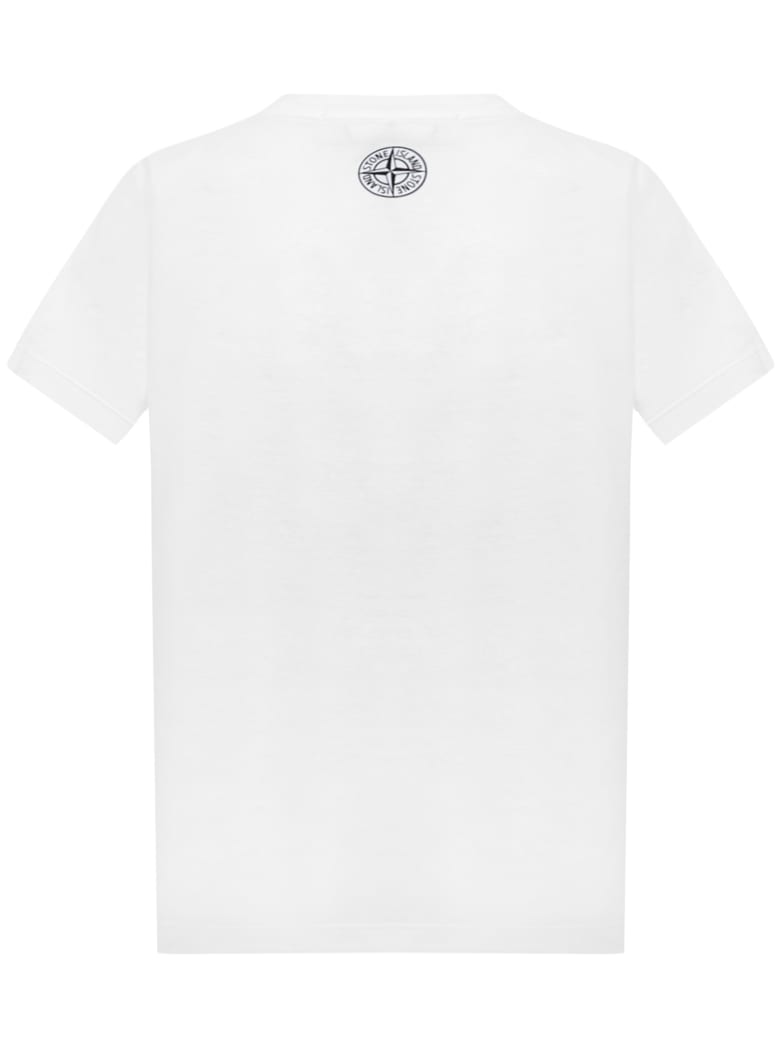 Stone Island Junior T-shirt - White