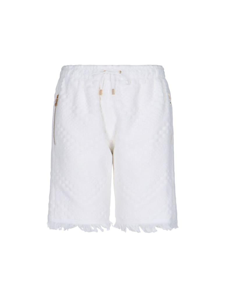 Marine Serre Pants - White
