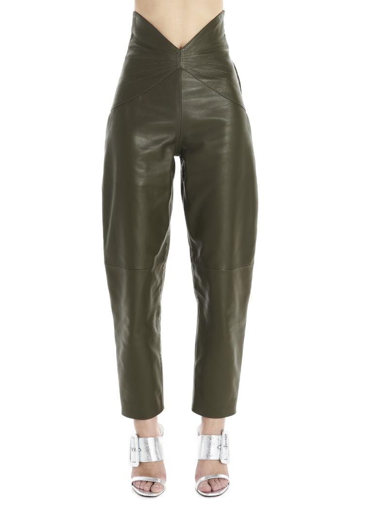The Attico Pants - Green
