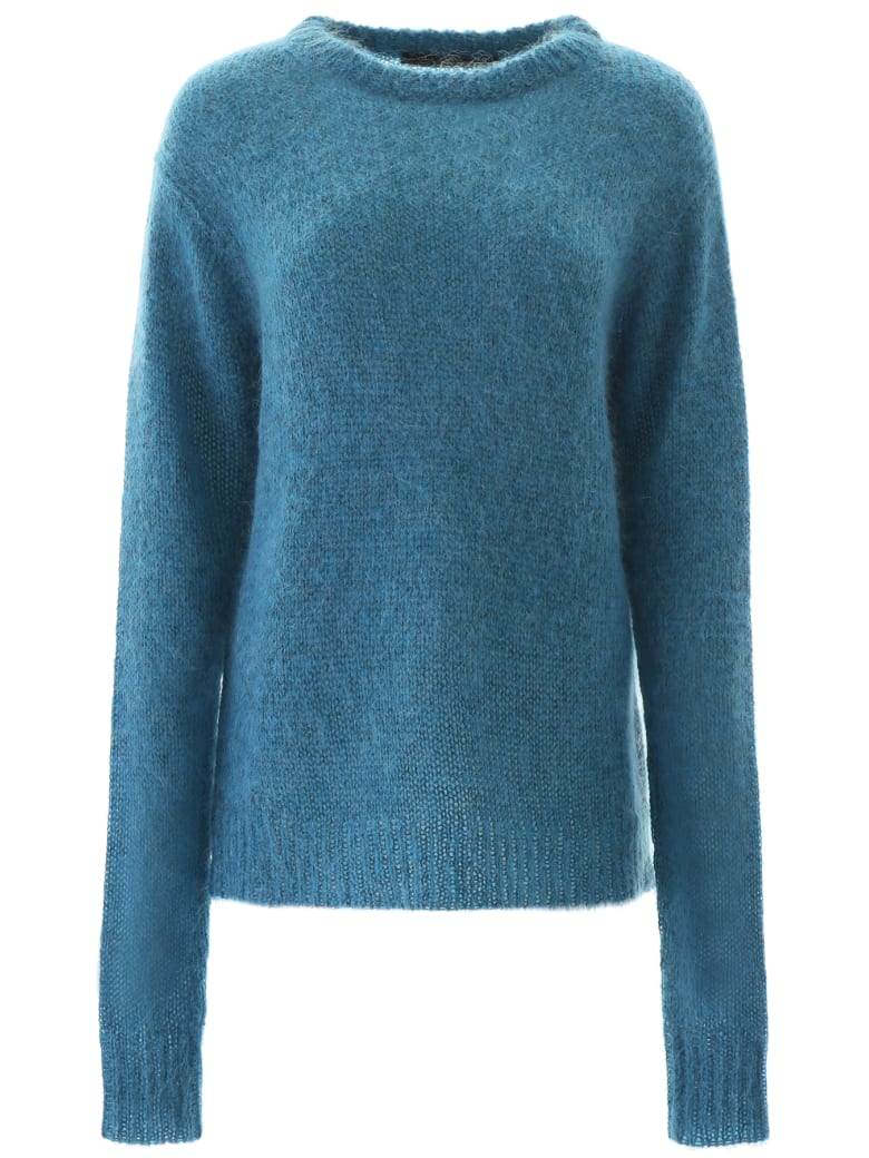 Rokh Mohair Pull - BLUE LOBSTER (Blue)