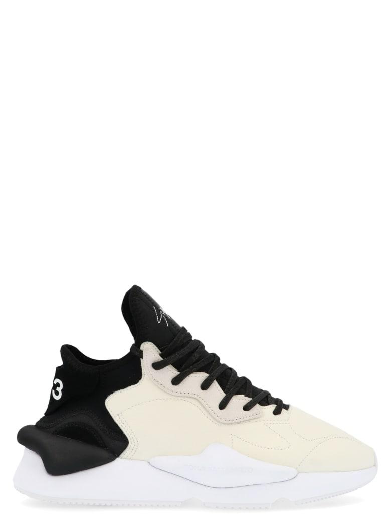 Y-3 'kaiwa' Shoes - Black&White