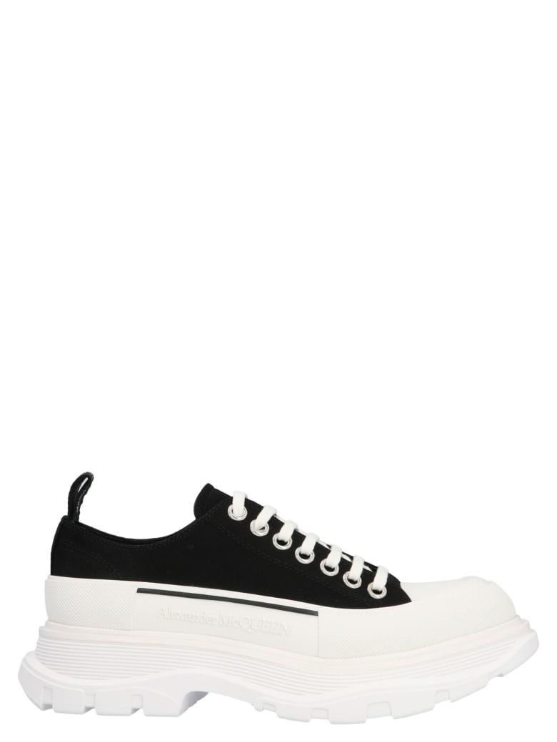 Alexander McQueen 'tread Slick' Shoes - Black/white/black
