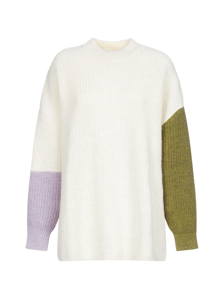 Valentine Witmeur Lab Sweater - Whitekakililac