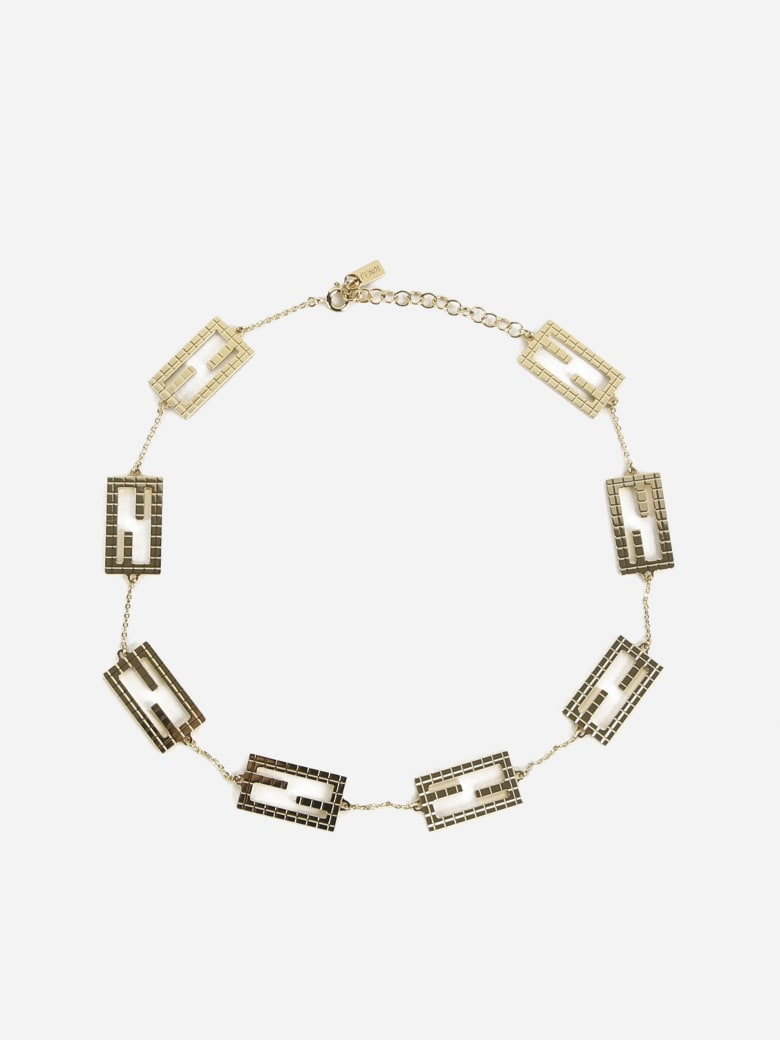 Fendi Baguette Necklace - Oro soft