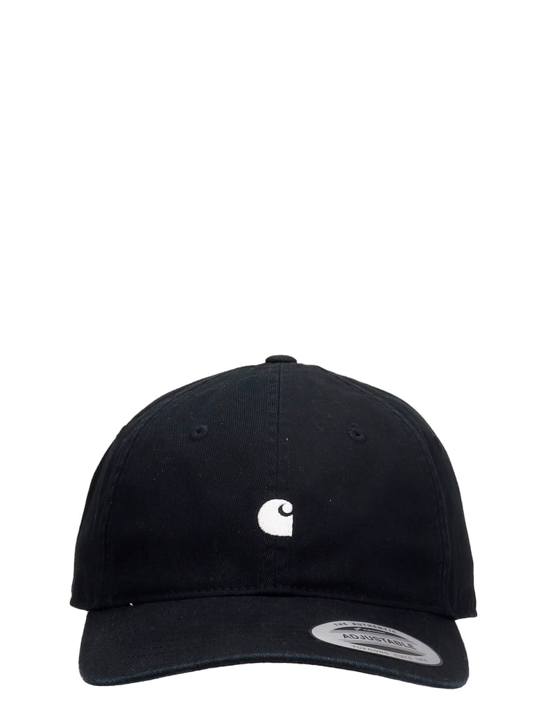 Carhartt Hats In Black Cotton - Nero e Bianco