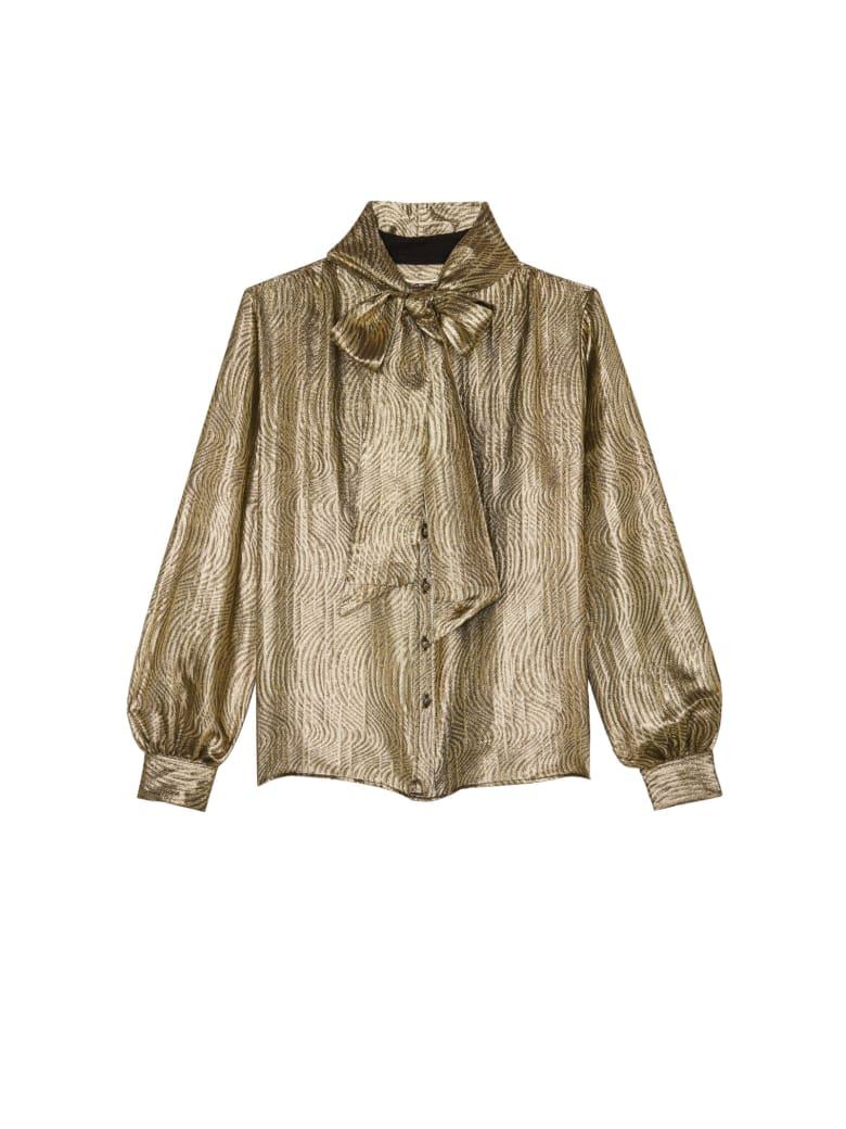 Saint Laurent Vague Doree Shirt - Khaki Gold