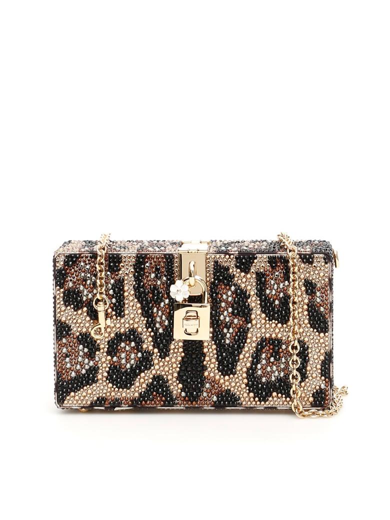 Dolce & Gabbana Dolce Box Bag - LEO NEW (Brown)