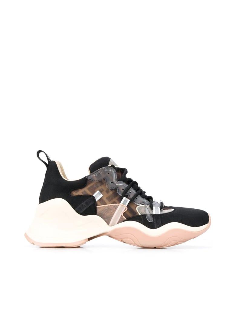 Fendi Net Ff Sneakers - Nero