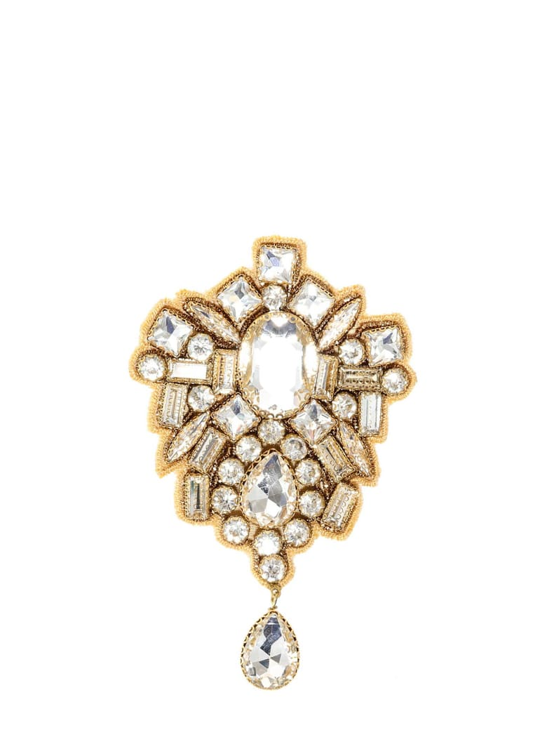 Dries Van Noten Brooch - White