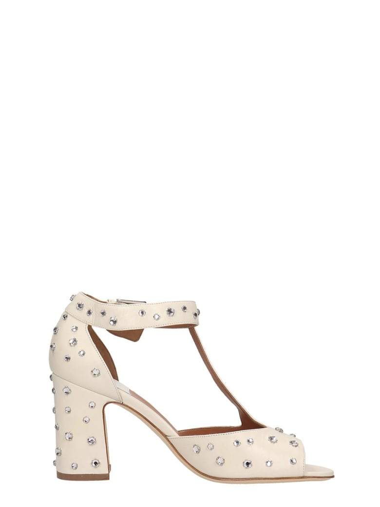Laurence Dacade Beige Leather Tonina Sandals - beige